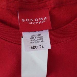 Sonoma Tops - Sonoma Graphic Tee - Large